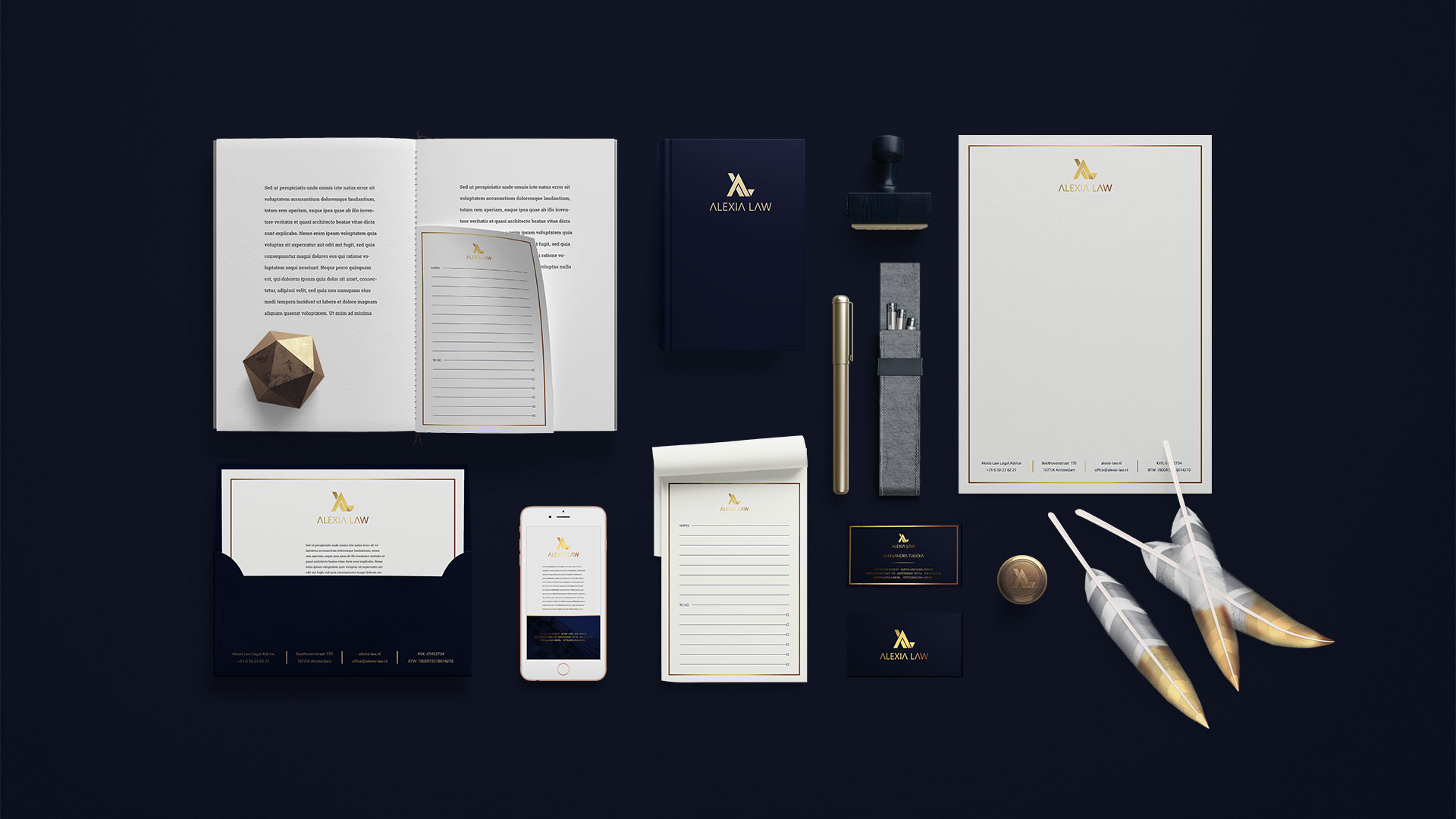 Alexia Law Stationery