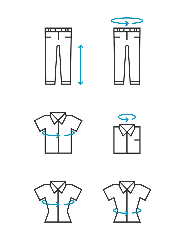Monikas Werkkleding Icons