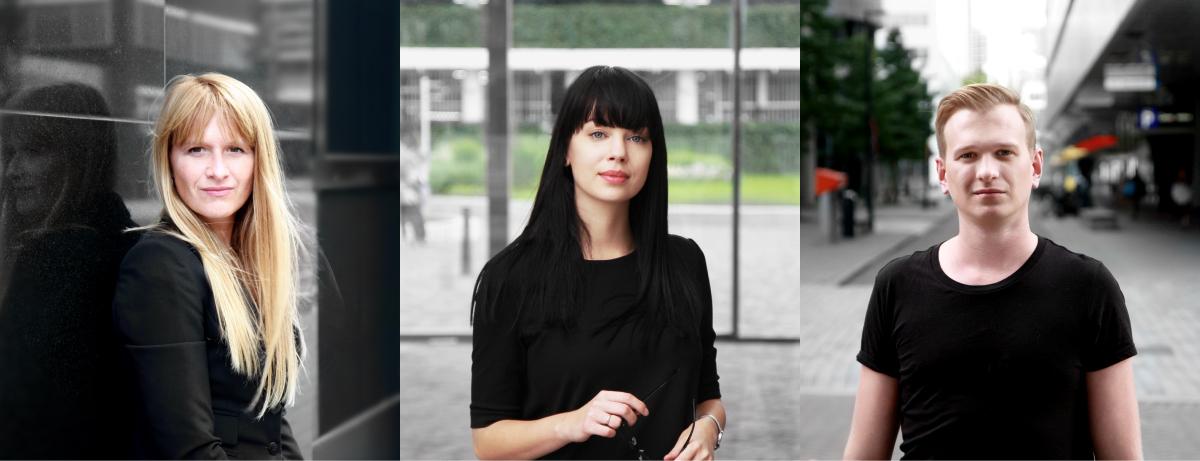 Rotterdam: Kasia, Weronika & Wojciech
